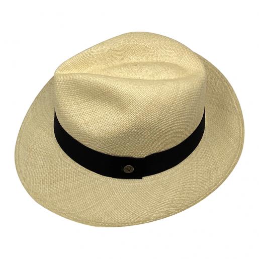 Chapeau Panama Fédora-Jeff-Chapeau victor naturel haut