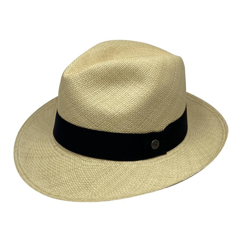 Chapeau Panama Fédora-Jeff-Chapeau victor naturel pro