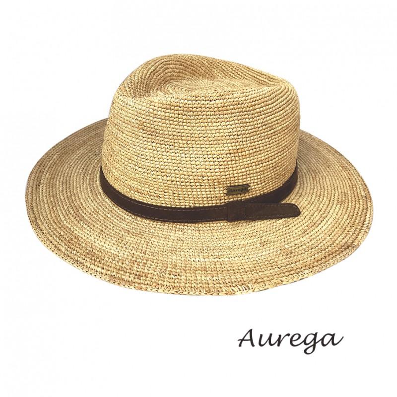 Chapeau été en raphia traveller. Couleur naturel