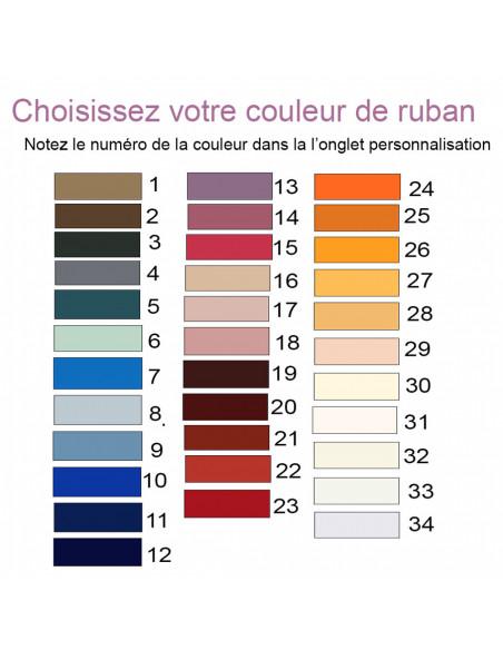 Palette de couleur Ruban