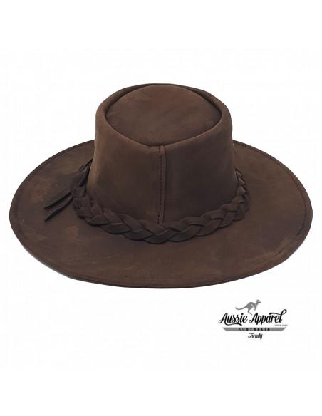 Chapeau Cuir BRUMBY - Aussie Apparel dos