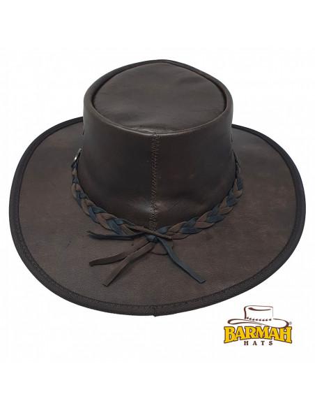 Chapeau Cuir Sundower - Barmah dos