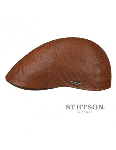 Casquette Texas Cuir Embossed - Stetson