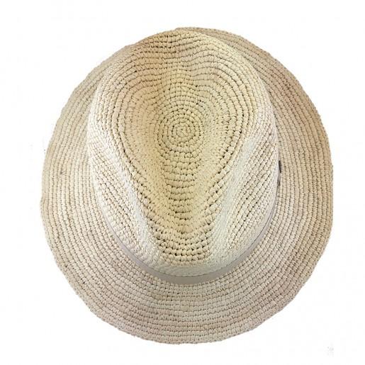 Chapeau Panama Homme et Femme Melvin au crochet haut