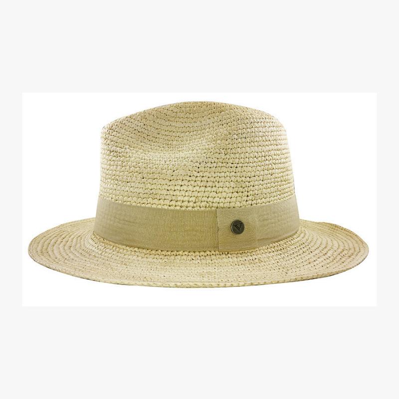Chapeau Panama Homme et Femme Melvin au crochet profil