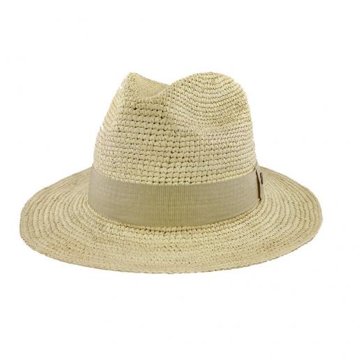 Chapeau Panama Homme et Femme Melvin au crochet face