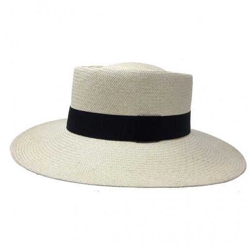Chapeau Panama Femme Annie Naturel profile