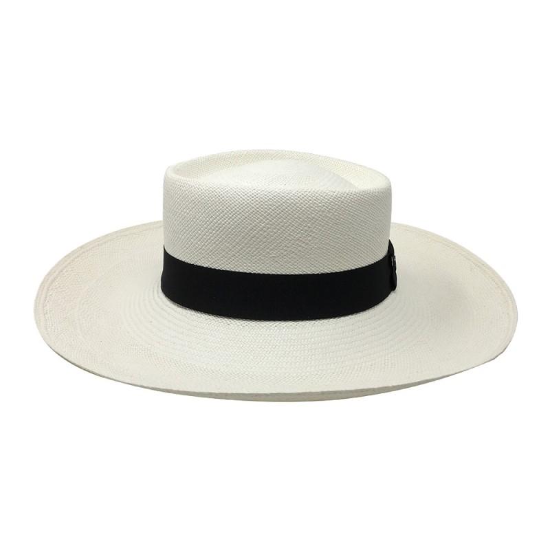 Chapeau Panama Femme Annie Blanc profile
