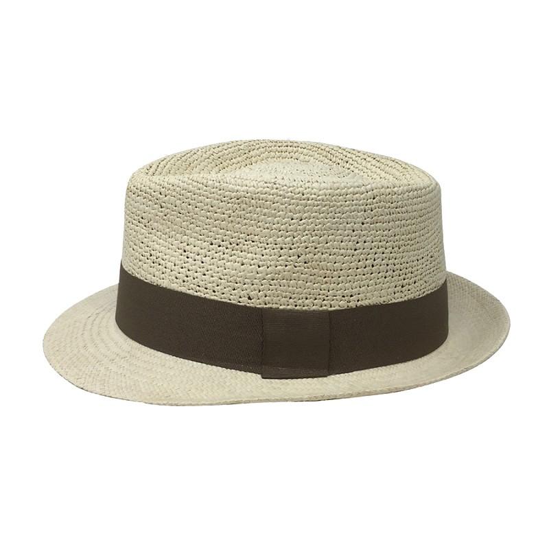 Chapeau Panama Trilby crochet Auréga. profile