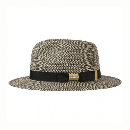 Chapeau Traveller Toyo -Stetson chiné noir profile 2