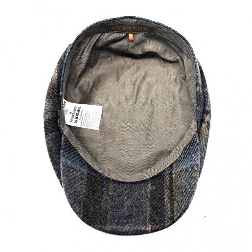 casquette bleu stetson wool