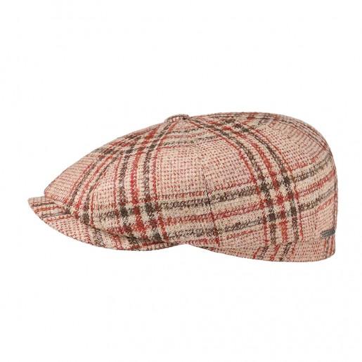 casquette hatteras stetson laine rouge