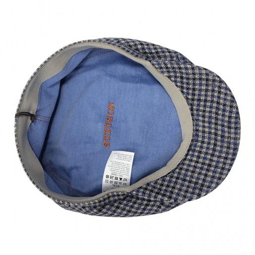Brooklin stetson lin à carreau bleu