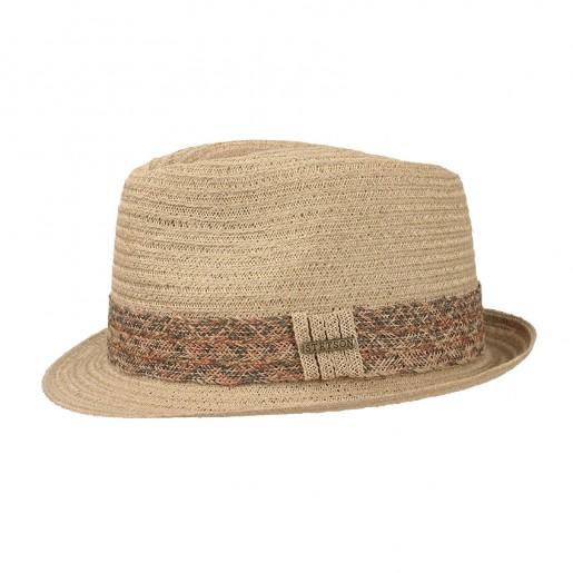 Chapeau naturel bord court stetson