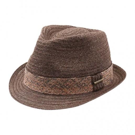 chapeau d été stetson abacca trilby
