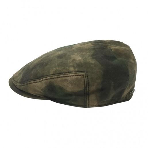 Casquette stetson camouflage speciale chapeau de pluie coton ciré coton enduit