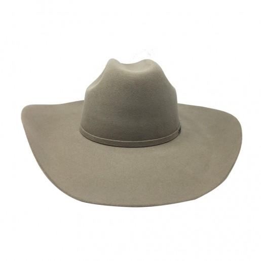 Chapeau couleur beige stetson western luxe