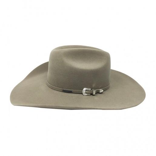 chapeau cow-boy stetson feutre de poil X4 profil