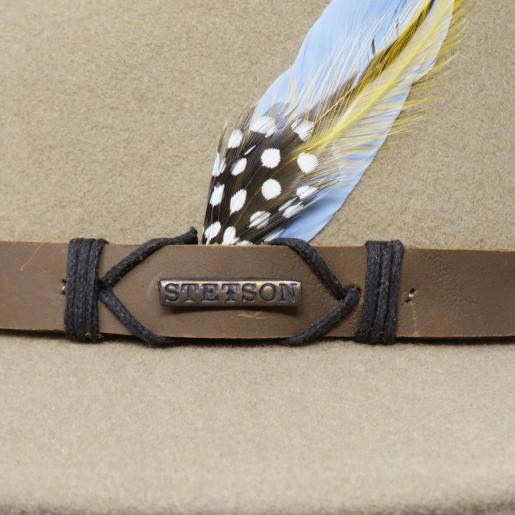 Logo stetson sur traveller beige
