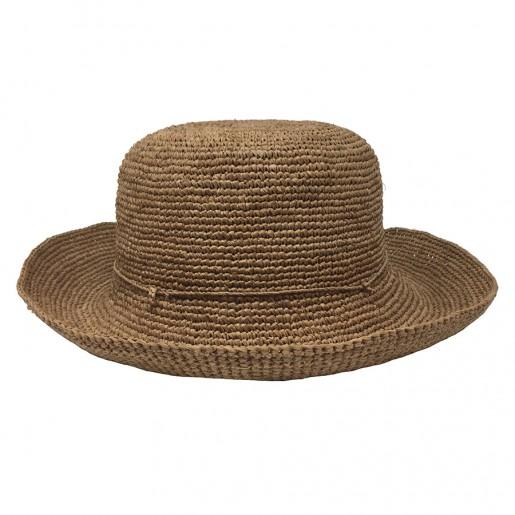 Chapeau cloche Raphia